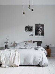 bedroom, home decor, interior design, simplified home, interiors, living spaces, modern, open concept, neutrals