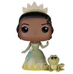 Figura Pop! Princesa Tiana & Naveen -
