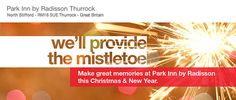 By Park Inn by Radisson Thurrock Hotel/Venue @ThurrockParkInn Let the Park Inn Thurrock create Christmas memories for you and your loved ones.   We'll provide the mistletoe ....book now to avoid disappointment !  Call our dedicated Christmas Coordinator on 01708 719988 http://www.parkinn.co.uk/hotel-thurrock http://www.parkinn.co.uk/hotel-thurrock/meeting-rooms/christmas