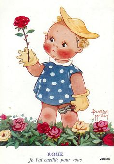 """Béatrice Mallet ~ """"I picked this for you."""""""