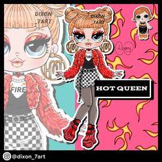Omg Girlz, Bratz Doll, Lol Dolls, Girly Things, Girly Stuff, Custom Dolls, Disney Characters, Fictional Characters, Queen