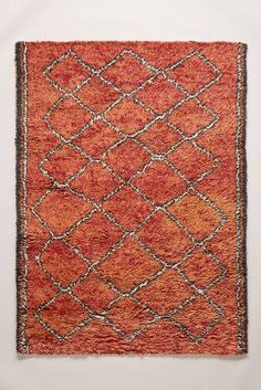 Hand Tufted Ourain Rug #Anthropologie