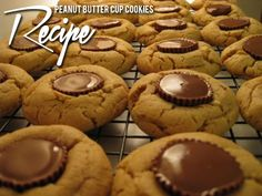 Peanut Butter Cup Cookies! YUM!