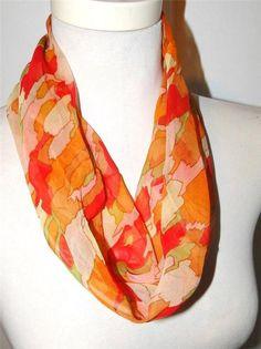 Vintage Adventure eBay listing for vintage Glentex silk scarf ends March 6, 2015.