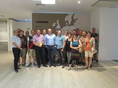 A group of German and a group of Swiss customers. Thanks for your visit!