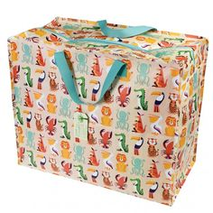 Our jumbo storage bags are big, bright, and beautiful. Great for moving house, camping or laundry bags, these enormous storage bags are very versatile. Large Storage Bags, Kids Storage, Bag Storage, Childrens Bedroom Accessories, Home Storage Solutions, Moving House, Retro Home Decor, Recycle Plastic Bottles, Bunt