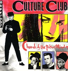 """For Sale - Culture Club Church Of The Poison Mind UK  12"""" vinyl single (12 inch record / Maxi-single) - See this and 250,000 other rare & vintage vinyl records, singles, LPs & CDs at http://eil.com"""