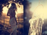 dreamcatchers and feather