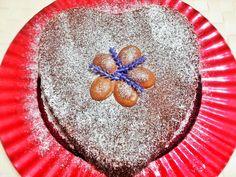 Torta al doppio cioccolato http://www.lovecooking.it/dolci/come-riciclare-le-uova-di-pasqua/
