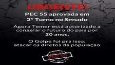 ClickVerdade - Jornal Missão: Aprovada PEC 55 em 2º que congela gastos sociais
