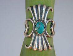 vintage turquoise  ☮ Gorgeous bohemian, boho, hippie, vintage, retro style jewelry! ❤️