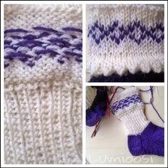 Lumioosi: Kääntövarsisukat Nallesta Socks, Knitting, Fashion, Moda, Tricot, Fashion Styles, Breien, Sock, Stricken