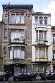 Bruxelles Extension Sud - Avenue Legrand 19, 21 - DELUNE Aimable
