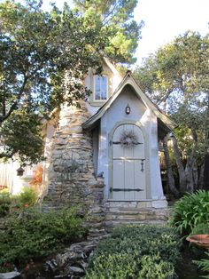 Hansel Storybook Cottage by Hugh Comstock. Carmel by the Sea