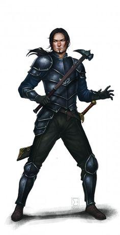 Der Krieger aus Mengbilla - Ein neuer Charakter für die Hand Borons