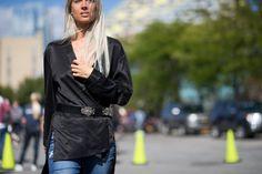 Street Style en New York Fashion Week, septiembre 2015 © TheUrbansPotter / Daniel Bruno Grandl