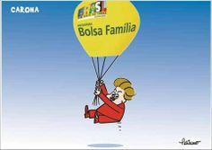 Dilma usa Bolsa Família para tentar conter queda de popularidade