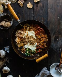 It's currently  with a 60% chance of  (!) which means a 100% chance of tonight !! Happy Sunday friends  (Budae jjigae recipe in the blog archives ) by tworedbowls