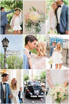 Chic Civil Ceremony | Ashley Ludaescher Photography | Bridal Musings Wedding Blog