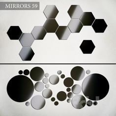 models: Mirror - Mirror on wall 59 3d Mirror, Honeycomb, Geometry, Wall Decor, Models, Texture, Abstract, Pattern, Wall Hanging Decor