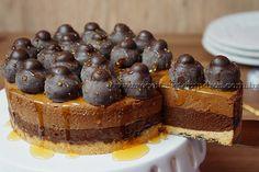 Torta mousse de chocolate | Receitas e Temperos