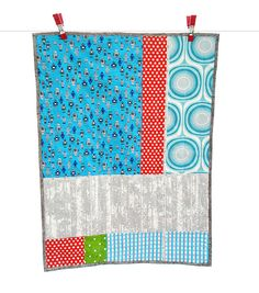 modern boy quilt... LOVE. Similar to the one I designed for Sprout.