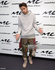 Liam Payne visits Music Choice on May 16, 2017 in New York City.