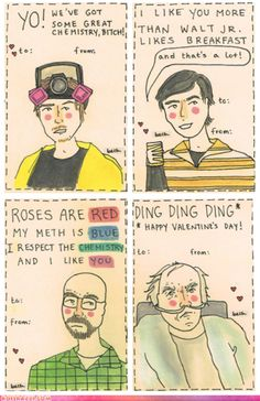 Happy Valentine's Day Breaking Bad style