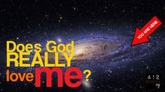 Does God love me, a tiny speck in the universe? http://www.412teens.org/qna/does-God-love-me.php?