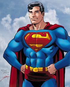 Ordway Superman color commission 2014 Comic Art