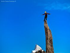 """This mountain peak in Molladalen, #Norway is called """"Bladet"""" (The Blade) for a very good reason!"""
