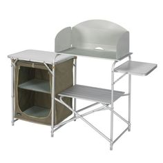 Mueble cocina aluminio Midland Cuisine Alaska totalmente plegable