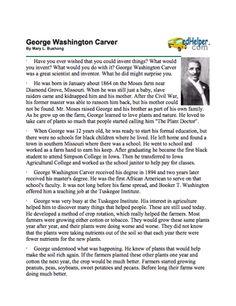 Thesis on george washington