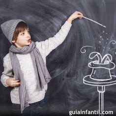 Te enseñamos tres trucos de magia muy sencillos para que puedan aprenderlos tus hijos. Cómo hacer magia. Trucos fáciles de magia para niños.