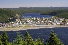The scenic view of the town of Placentia on the Avalon Peninsula in Newfoundland, Canada is breathtaking from Fort Royal at Castle Hill National Historic Site. Newfoundland Canada, Newfoundland And Labrador, Landscape Photos, Landscape Photography, Discover Canada, Future Photos, Atlantic Canada, O Canada, Take Better Photos