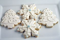 Decorated Christmas Sugar Cookies | Pasta Princess and More