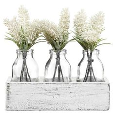 You won't believe these plants aren't real! Our wide selection of faux greenery includes the most realistic looking succulents, stems and potted plants that will add a touch of everlasting green to your modern decor. Bouquet D'hortensia, Hydrangea Bouquet, Faux Flowers, White Flowers, Bouclair, Pots, Fleurs Diy, Free Plants, Types Of Plants