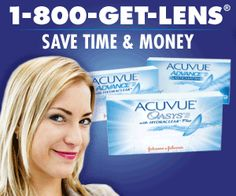 Find the lowest prices on contact lenses at 1-800-GET-LENS.  Find 1-800 Get Lens Coupons.