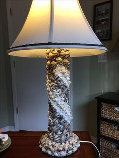 make an oyster shell lamp | DIY | Pinterest | Shell lamp, Oyster ...