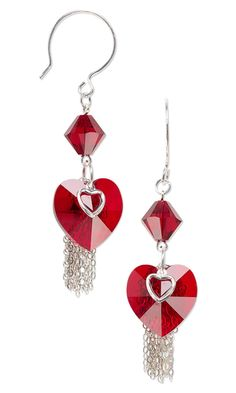 Craftdrawer Crafts: Free Valentine's Day DIY Jewelry Instructions for Earrings, Bracelets and More!