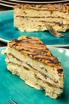 Thermomix Desserts, No Bake Desserts, Just Desserts, Delicious Desserts, Dessert Recipes, Amish Recipes, Dutch Recipes, Baking Recipes, Amaretto Cake