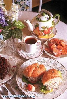 Tea Time... yummy snacks....
