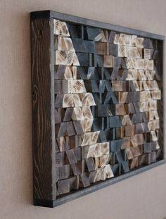 Rustic Wood Wall Decor rustic reclaimed wood wall art, wood wall sculpture, abstract wood