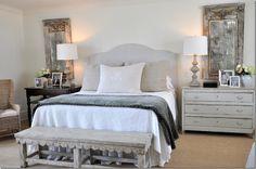 Beautiful bedroom designed by Ginger Barber