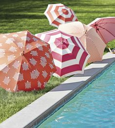 OUTDOOR LIVING | Oasis Awning Fabric by Thibaut | Jane Clayton