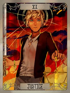 LiS tarot cards (set 1) by Xiao Tong Kong/Veloce from Velocesmells on Tumblr