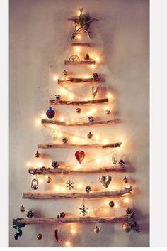 Όμορφες ιδέες για Diy Χριστουγεννιάτικα δέντρα