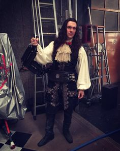 """George Blagden on Twitter: """"""""……why aren't we shooting?!"""" #Versailles…"""