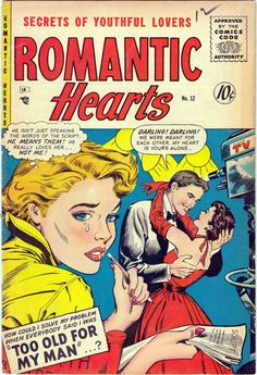 Comic Book Cover For Romantic Hearts #12