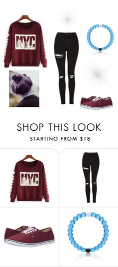 """Casual Day"" by rebelkatnisseverdeen ❤ liked on Polyvore featuring Topshop and Vans"